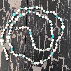 Authentic Honora Pearl and Gemstone Necklace